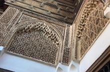 摩洛哥·马拉喀什·巴伊亚宫