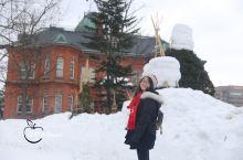 跟着小苹果去北海道看雪