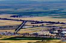 新疆第二大草原、丝路重镇巴里坤古城