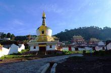 甘南郎木寺,有着''东方小瑞士''之称的小镇光影