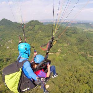 峨眉山滑翔伞双人体验