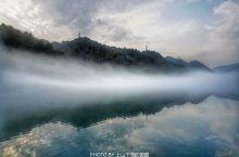 雾漫小东江太唯美,形成原理竟然和吉林雾凇是一样