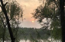 白浪河湿地公园风景
