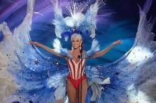 环球小姐被要求穿一套自己国家特色的衣服,韩国小姐居然把全世界国旗穿在身上!闹哪样?