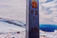 长白山37号界碑