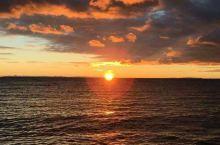 黑马河看日出,看阳光起来的样子(1)