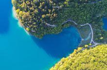 航拍克罗地亚最美十六湖