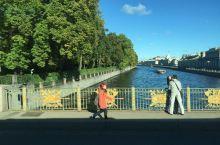在圣彼得堡遇到最美的自然。