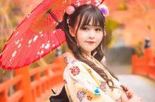 日本枫叶季旅行最正确的打开方式就是穿和服游走在神社之中!