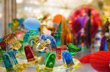 五彩缤纷,一个透明的玻璃世界