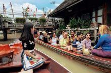 泰国🇹🇭芭提雅除了酒吧街、人妖秀,还有好玩的水上市场