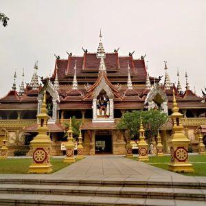 西双版纳总佛寺旅游景点攻略图