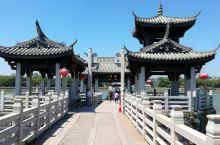 #元旦去哪玩#广济桥的震撼灯光秀