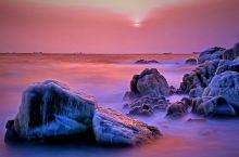 大年除夕游北戴河,遇见美丽的海边日出和冰排,冻成狗也是开心值得的