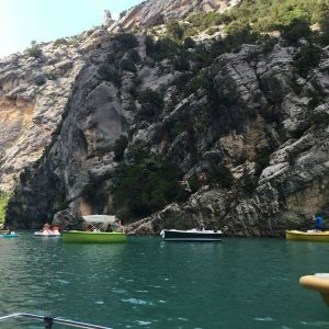 凡尔登大峡谷和圣十字湖旅游景点攻略图