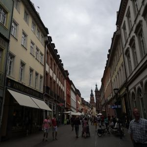 海德堡步行街旅游景点攻略图