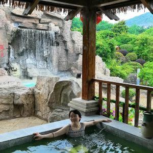 汤山一号温泉度假区旅游景点攻略图
