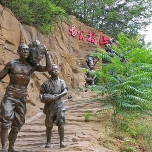济源游记图文-遇见不一样的济源:王屋山赏千年银杏,五龙口观太行猕猴