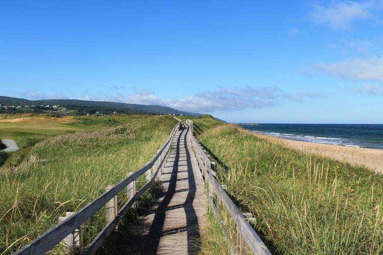 Inverness Beach Boardwalk