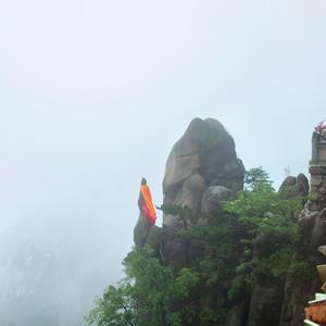 池州游记图文-灵山开九华、烟雨行自在——九华山二日半自助游
