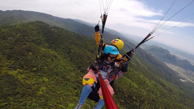 请慷慨地给自己一些放飞自我的时间∣滑翔伞 – 南宁游记攻略插图2
