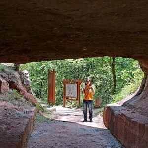 通天岩旅游景点攻略图