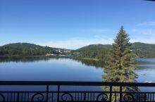 魁北克翠湖山庄,值得一游的地方,住上两天挺好!