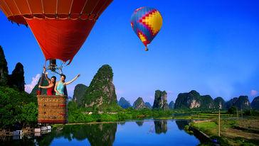 燕莎热气球飞行体验