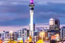 天空塔,奥克兰,新西兰