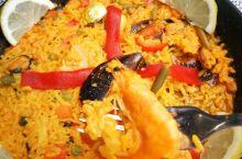 水菱吃货之旅の西班牙煮不熟的海鲜饭