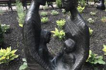 多伦多街头的雕塑