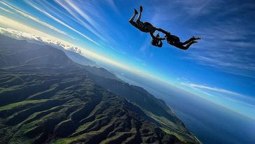 Pacific Skydiving夏威夷高空跳伞体验