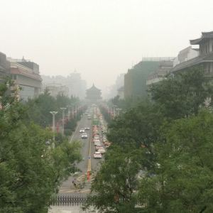 西安城墙旅游景点攻略图