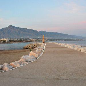 马拉加海滩旅游景点攻略图