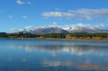 新西兰秋天的图画