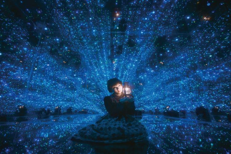 夢幻星空錯覺藝術館1