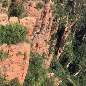 红石林景区旅游景点攻略图