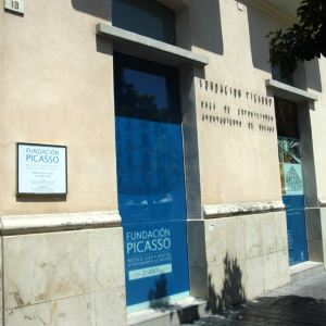 毕加索基金会及毕加索故居旅游景点攻略图