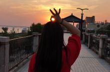 长江边观日落🌄