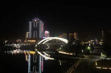#摇滚吧牢友#涟江公园的晨光与夜影