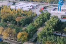 济南香格里拉酒店城景房,视角超好,看泉城广场全景