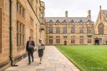 英伦古堡般的悉尼大学