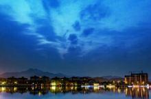 美丽夜景----峨秀湖之夜