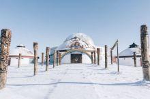 呼伦贝尔大草原❄️冬天就变成了呼伦贝尔大雪原