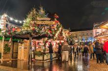 圣诞市场—寒冷冬夜的指望