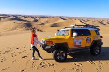 越野车沙漠冲浪 体验起伏沙丘的刺激