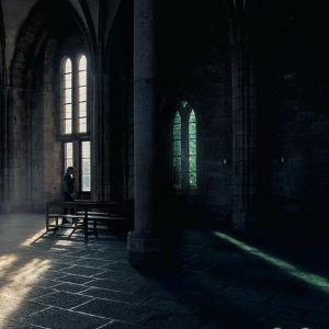 圣米歇尔山修道院旅游景点攻略图