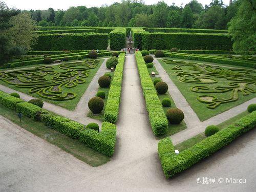 Gardens and Castle at Kromeriz2