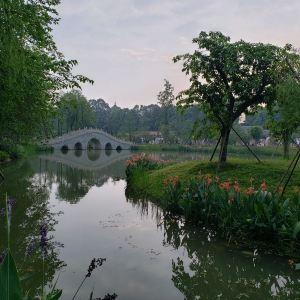 浣花溪公园旅游景点攻略图