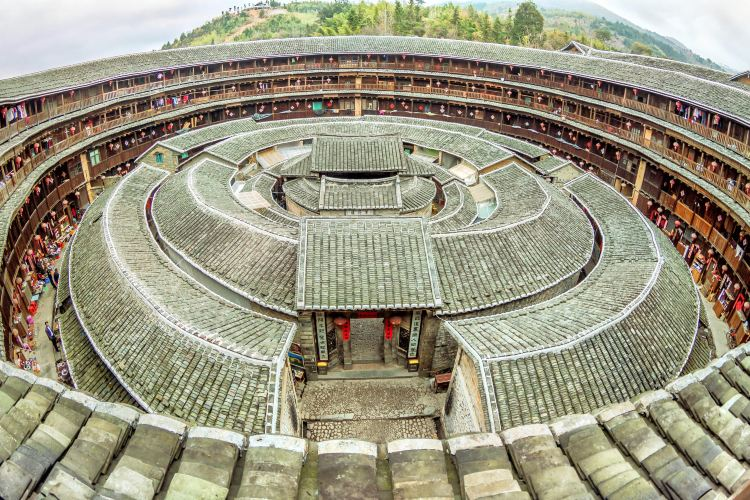 Hakka Tulou Customs and Culture Village (Hongkeng)